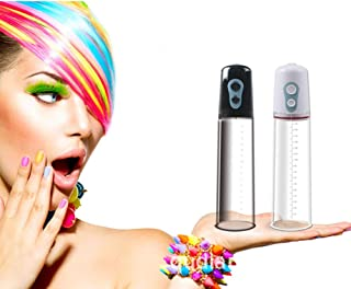 Male Mens Electric Vacuum Pump Enlarger Muscle Exercise Body Enhancement Extender Massager, White ChicShop US