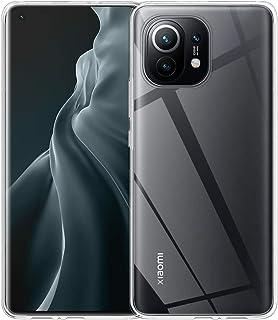 ELYCO Coque pour Xiaomi Mi 11 2021, [Anti-Chute] [Anti-Collision] Coque Ultra-Mince pour Couverture en Gel TPU [Absorption...