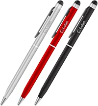 PRO Stylus Pen for Huawei Ascend G510 with Ink, High Accuracy, Extra Sensitive, Compact Form for Touch Screens [3 Pack-Bla...