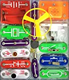 EZLink Electronic Blocks Kit,W-58 DIY Circuit Experiments,Science Kits,Electronic Discovery Kit Toy for...