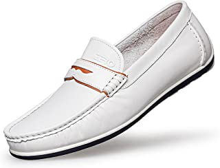 9ffc20bf274de Amazon.com: Penny-Loafer - White / Loafers & Slip-Ons / Shoes ...