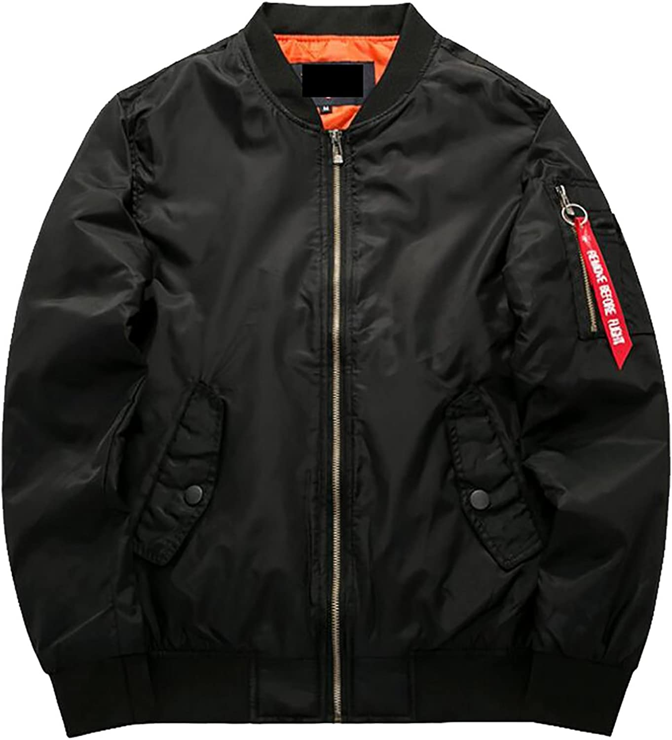 - SYTX Mens MA-1 Flight Bomber Quilted Quilted Quilted Plus Size Lightweight Down Coat Jacket 34b47c