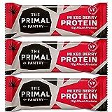 The Primal Pantry High Protein Bar - mit 15g Hanfprotein je Riegel (Probierbox 15er Karton)