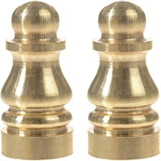 Penck Solid Brass Finial for Lamp Shades - Lamp Finials Lighting Accessories Knob Lamp Finial Decoration Accessories 1 inc...
