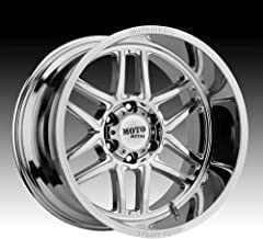 MOTO METAL MO992 FOLSOM Chrome Wheel (22 x 10. inches /8 x 125 mm, -18 mm Offset)