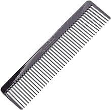 Masculine Craft Gunmetal Beard Comb | Anti Static Fine to Medium Metal Hair Comb for Men | Heavy Duty Professional Beard G...