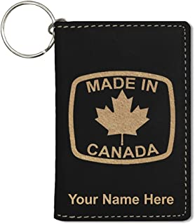 ID Holder Wallet, Made in Canada, Personalized Engraving Included