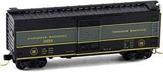 Micro Trains N Scale 40' Box Car Canadian National Rd#11054 - 02000956 by Micro-Trains Line (MTL)