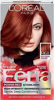 Feria #B68 Pwrred Ruby Ru Size 1kit Feria #B68 Power Red Ruby Rush 1kit