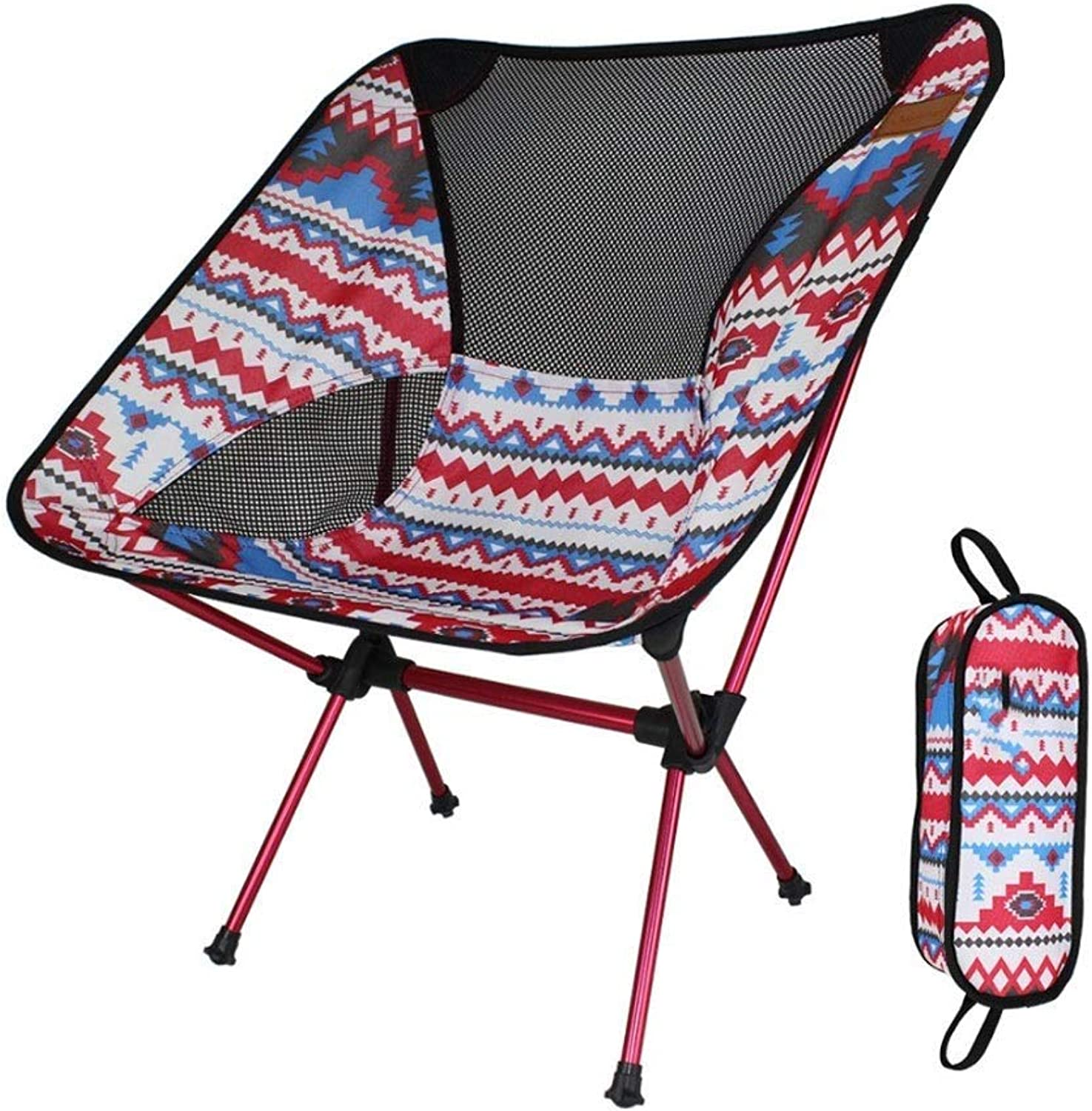 Tao-Miy Portable Lightweight Folding Camping Chair for Backpacking, Hiking, Picnic