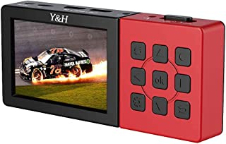 Y&H モニタ内蔵キャプチャーボックス ezcap273A PC不要 ビデオレコーダー 1080P 60fps H.264 RCA コンポジット HDMI 等アナログビデオのダビング・デジタル化 日本語画面 3000mAh大容量バッテリー搭載 ...