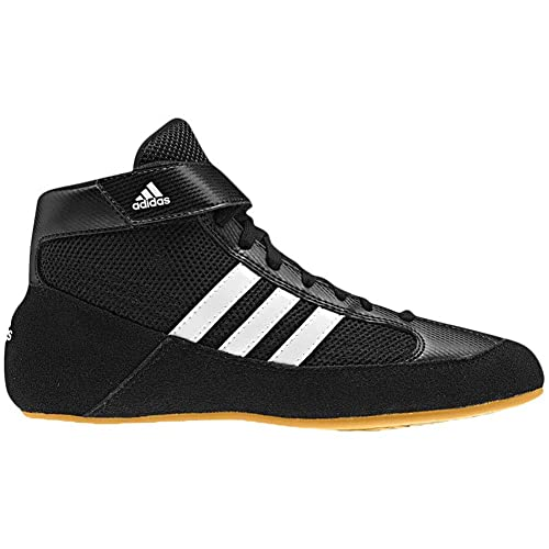 053f4780194b adidas Men s Boy s HVC2 Wrestling Mat Shoe Ankle Strap 2 Colors AQ3325