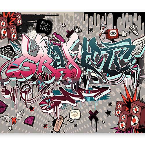 murando Papier peint intissé 350x256 cm Décoration Murale XXL Poster Tableaux Muraux Tapisserie Photo Trompe l'oeil Graffiti m-A-0160-a-d