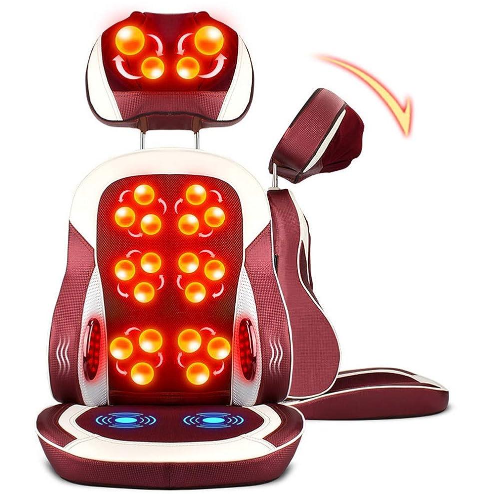 メガロポリス慰めベルベット電動マッサージクッション、快適なマッサージ、疲れを和らげる