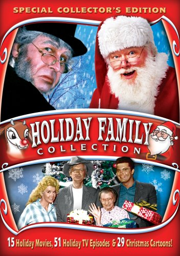 Holiday Family Collection: Miracle on 34th Street - The Nativity - Santa Claus - The Littlest Angel - Beverly Hillbillies - Ozzie and Harriet - Jack Benny - Red Skelton - Dragnet - Sherlock Holmes + many more!