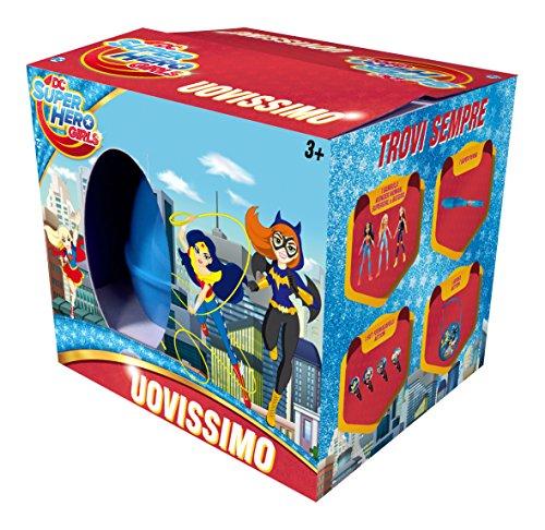 Mattel FNF95 DC Super Hero Girls Uovissimo, Multicolor, Modelos Surtidos, 1 Unidad