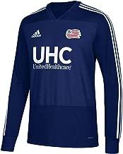 adidas New England Revolution MLS Men's Navy Blue Climacool Long Sleeve Team Color Training Jersey