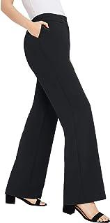 Women's Plus Size Tummy Control Bi-Stretch Bootcut Pant