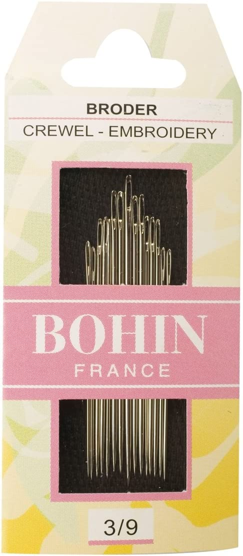 Bohin Be super welcome Crewel Embroidery Needles Size online shopping Per 3 Package 9 15