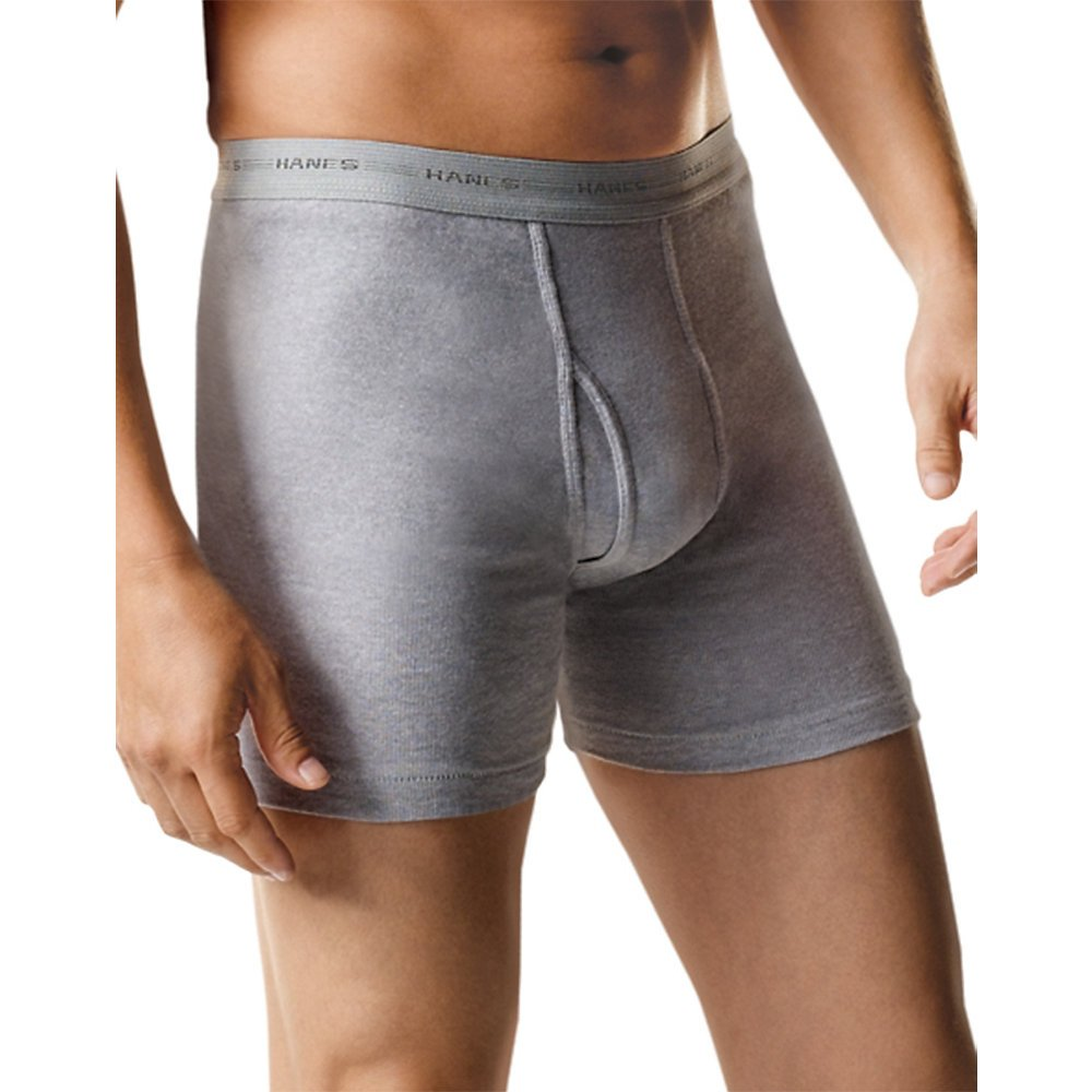 Hanes Mens 5-Pack Sports-Inspired Cool Dri Boxer Brief