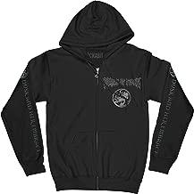 Cradle of Filth Men's Dusk and Her Embrace Zippered Hooded Sweatshirt Black