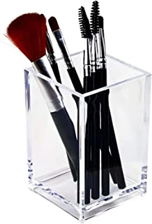 Makeup Brush Holder Cosmetic Organizer, transparante Makeup Organizer, opslag voor uw grote, kleine, brede en smalle borst...