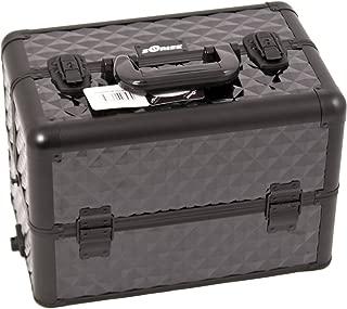 Sunrise Storto Heavy Duty Makeup Case Professional Nail Travel Organizer Box, Black Diamond, 7 Pound