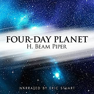 Four-Day Planet audiobook cover art