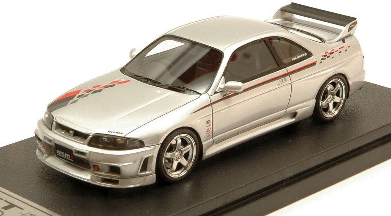 nuevo sádico HPI Racing HPI8802 HPI8802 HPI8802 Nissan NISMO R33 GT-R R-Tune plata 1 43 MODELLINO Die Cast Compatible con  calidad auténtica