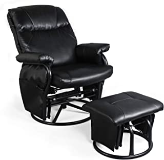 Magnificent Best Metal Glider Rocker Recliner Of 2019 Top Rated Reviewed Squirreltailoven Fun Painted Chair Ideas Images Squirreltailovenorg