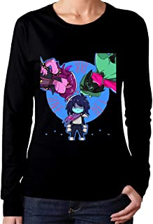 Xorteye Deltarune Classic Women's Long Sleeve T-Shirts Black