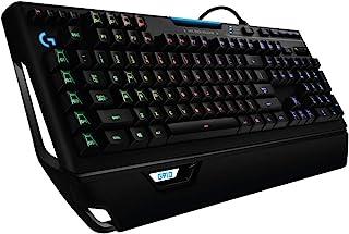 Logitech G910 Orion Spectrum Teclado Gaming Mecánico Retroiluminado, RGB LIGHTSYNC, Romer-G Táctil,9 Teclas G, Segunda Pantalla Arx, Disposición QWERTY Inglés, Negro