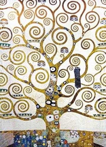 1art1 Gustav Klimt Poster Papier Peint - l'arbre De Vie (Détail), 2 Parties (250 x 180 cm)