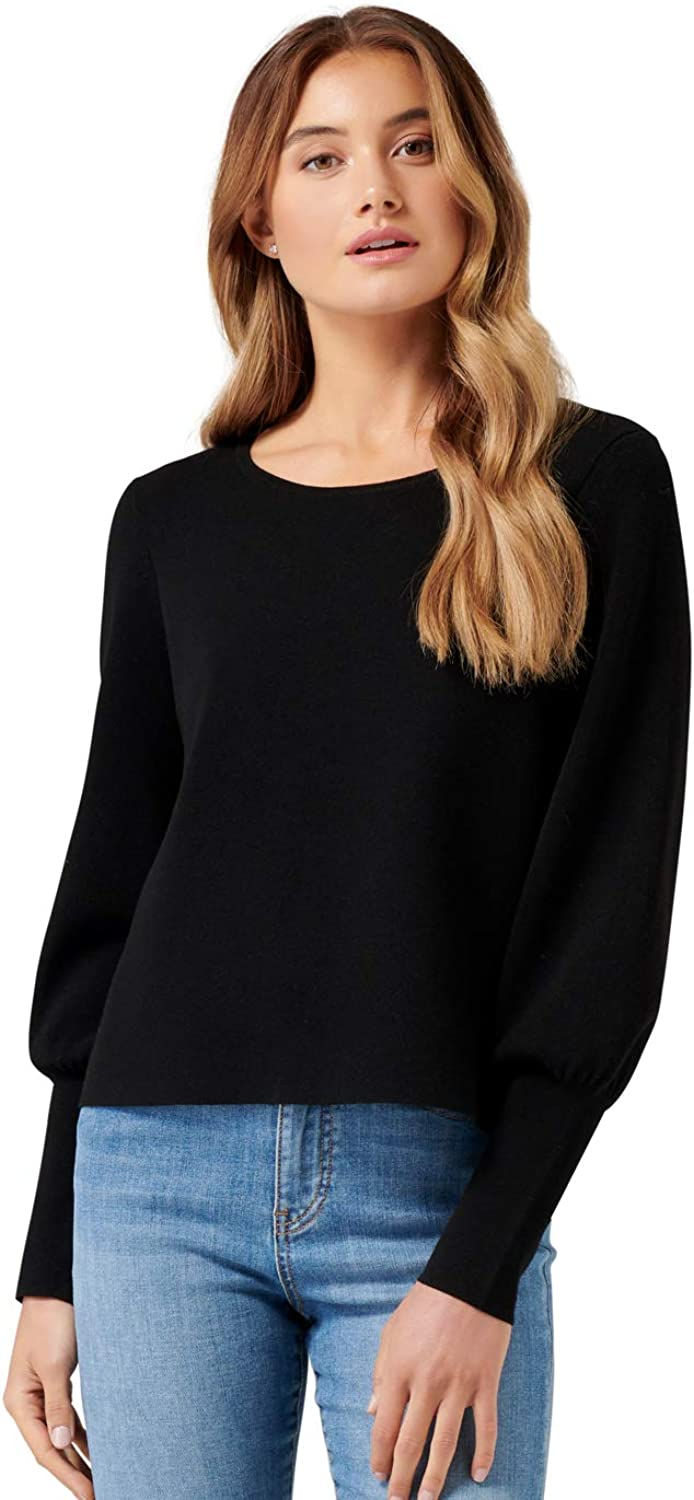 Ever New Womens Florence Blouson Sleeve Sweater