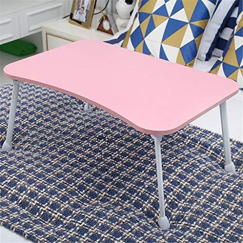 Laptoptisch Lazy Bed Klapptisch, Faltbarer Knietisch, Laptop-Tablett, Knietisch, multifunktionaler Knietisch zum Essen, Lesen, Arbeiten, Anschauen von Videos auf Bett/Sofa/Boden