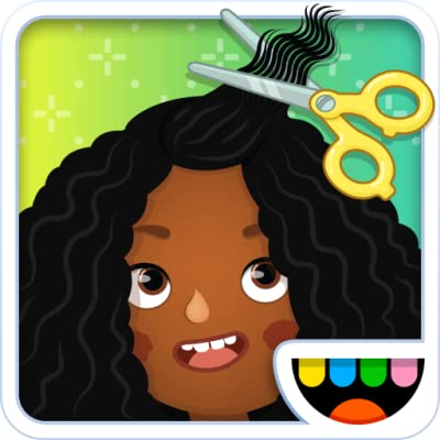 Toca Hair Salon 3 from Toca Boca