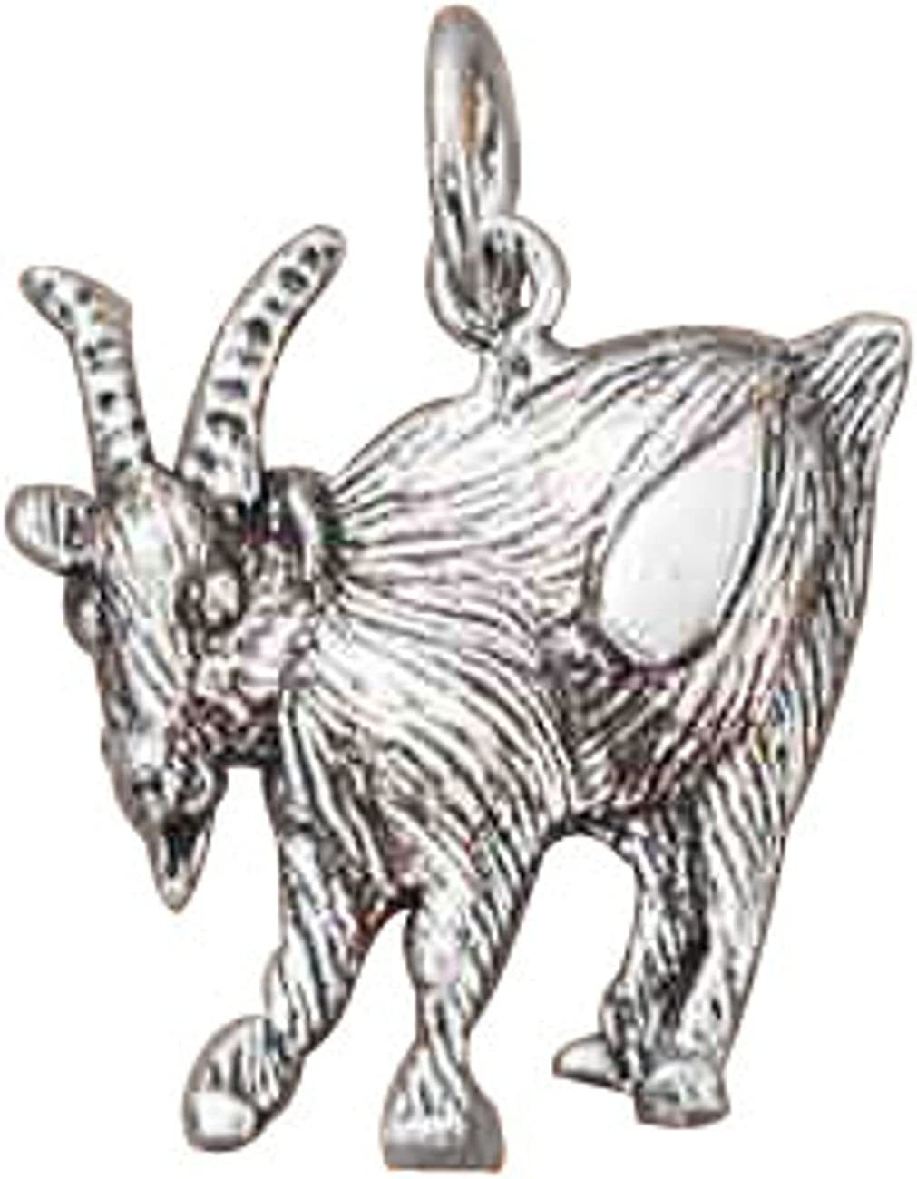 Sterling Silver List price Goat High quality new Charm