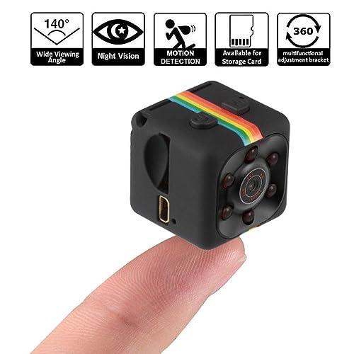 Mini Caméra SQ11 HD 1080 P Caméscope Sport Mini DV Enregistreur Vidéo Espion Caméras avec Vision Nocturne et Motion Détection Caméra de Sécurité