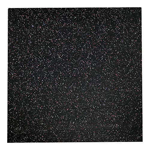 RevTime Anti-Vibration Mats, 25' x 25', 1/2' Thick,...
