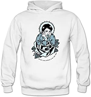 Tommery Women's Kevin Smith Logo Long Sleeve Sweatshirts Hoodie