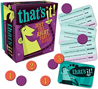 Best that's it card game Reviews