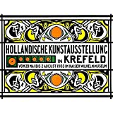Wee Blue Coo Vintage Advert Museum Dutch Exhibition Krefeld