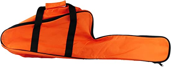 Chainsaw Bag Carrying Case Portable Protection Waterproof Holder Fit for Stihl & Husqvarna 12''/14''/16'' Chainsaw Storage Bag(Orange)