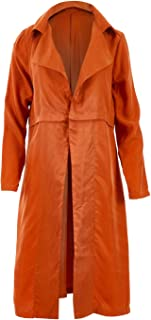 Belle Bird Womens Trench Coats Belle Soft Fall Trench Rust - Coats