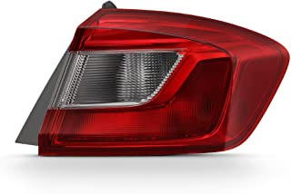ACANII - For 2016-2018 Chevy Cruze Sedan Outer Rear Replacement Tail Light - Passenger Side Only