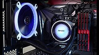 Antec m120-rgb–Liquid Cooler with Pump and LED Fans RGB, Black