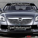 myrockshirt Insignia Opel Motorsport Aufkleber Rennstreifen 130cm+Logo- Aufkleber,Decal, Sticker,auch Hochleistungsfolie, Sonnenblen