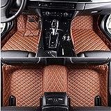 YJLOVK para un para Alfombrillas de Coche Personalizadas para Lexus GSgs300 gx460 gx470 lx470 Lexus lx570 rx330 is250 Accesorios de Coche Alfombrillas para Coches, marrón