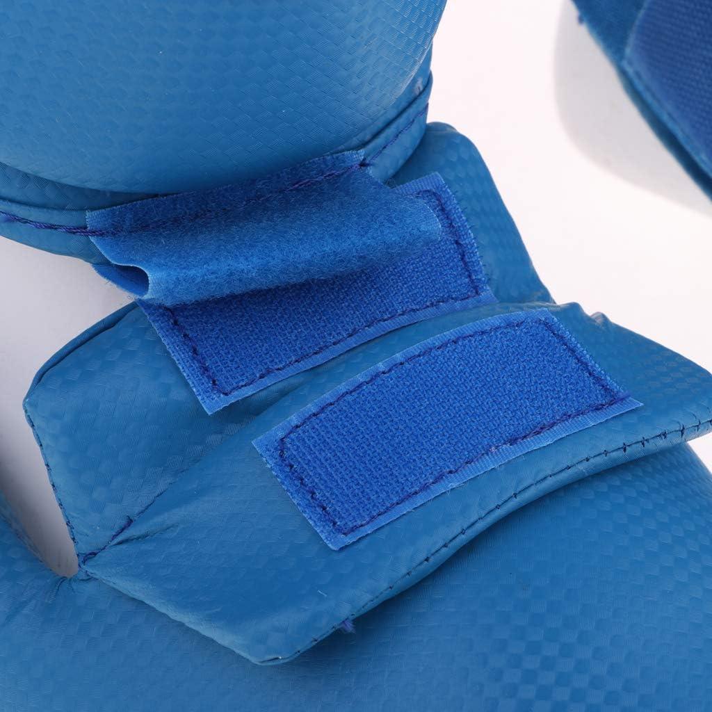 menolana Kickboxing MMA Shin Guards Instep Leg Pads Protective Gear for Men Women Sizes Optional