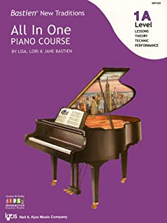 WP452 - Bastien New Traditions - All In One Piano Course - Level 1A